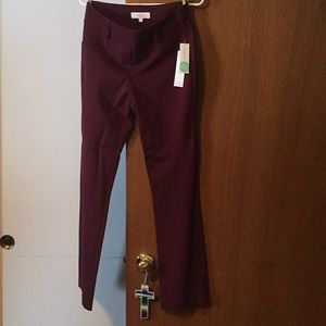 Stitchfix pants NWT burgundy pants from Margaret M
